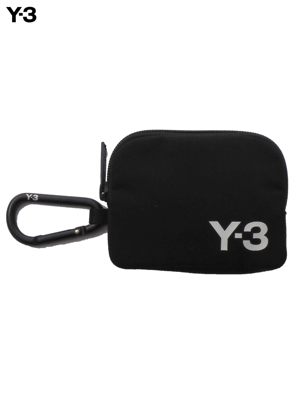 Y-3 CARABINER POUCH / ワイスリー カラビナ ポーチ(ブラック)
