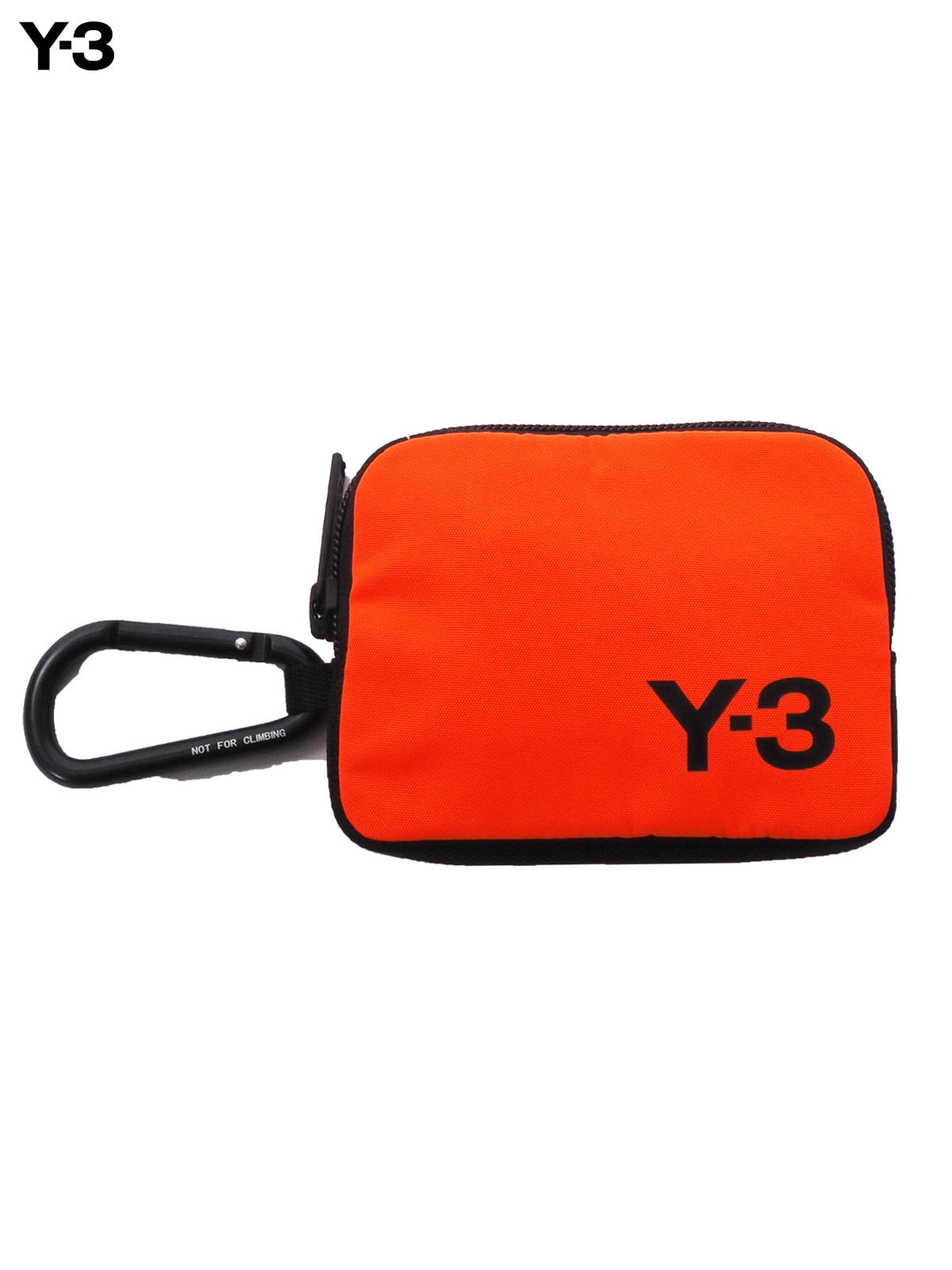Y-3 CARABINER POUCH / ワイスリー カラビナ ポーチ(オレンジ)