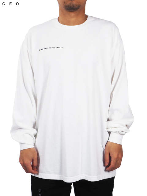 ONE EARTH LONG SLEEVE T-SHIRT (ホワイト)