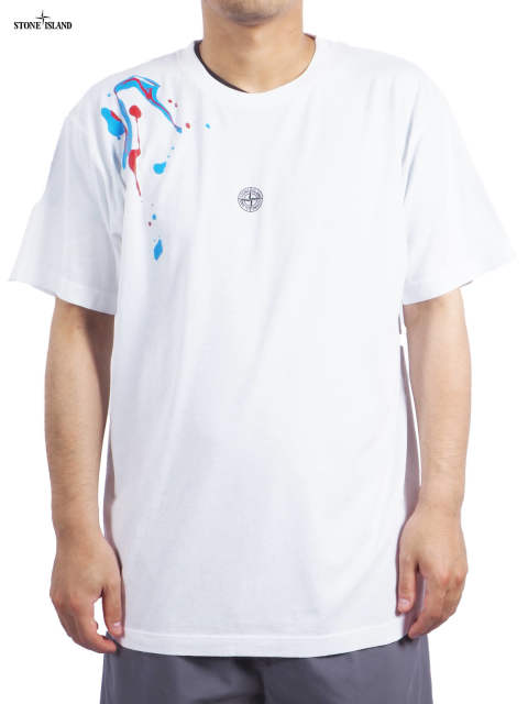 "72152NS84 / ""ACQUADRONE TWO"" / Tシャツ (ホワイト)"